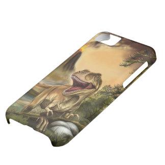 Caso despredador del iPhone 5C del dinosaurio Funda Para iPhone 5C