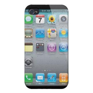Caso difícil de Iphone de la ilusión iPhone 4 Carcasas