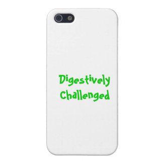 Caso digestivo desafiado del iPhone 5 iPhone 5 Carcasa