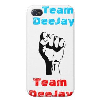 "caso ""disc jockey del iPhone 4 del equipo "" iPhone 4 Carcasa"
