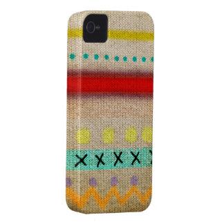 Caso diseñado puntada del iphone 4 de Case-Mate iPhone 4 protector