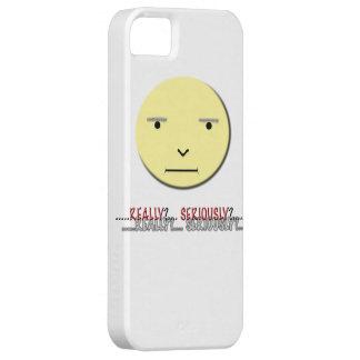 ¿Caso divertido de Iphone de la cara - realmente? iPhone 5 Carcasa