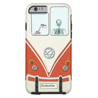 Caso divertido de Van iPhone 6 del zombi Funda Para iPhone 6 Tough
