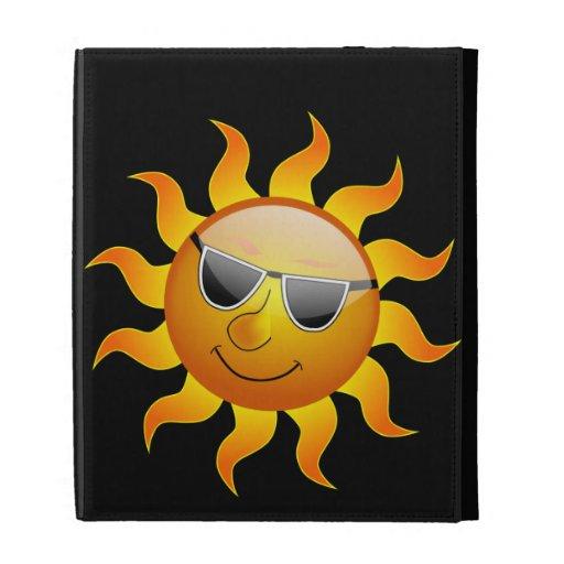 Caso divertido del iPad de Sun Caseable del verano
