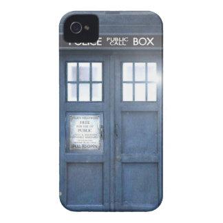 Caso divertido del iPhone 4 de la caja de llamada iPhone 4 Case-Mate Carcasas
