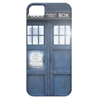 Caso divertido del iPhone 5 de la caja de llamada iPhone 5 Case-Mate Cárcasa