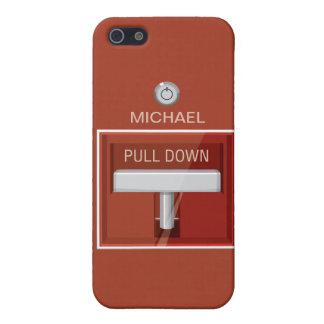 Caso divertido del iPhone 5 de la estación la alar iPhone 5 Protector