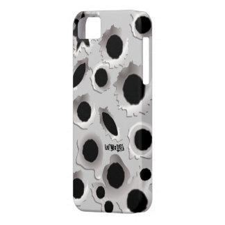 Caso divertido del iPhone 5 de los agujeros de los iPhone 5 Funda