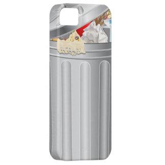 Caso divertido del iPhone 5 del bote de basura iPhone 5 Funda