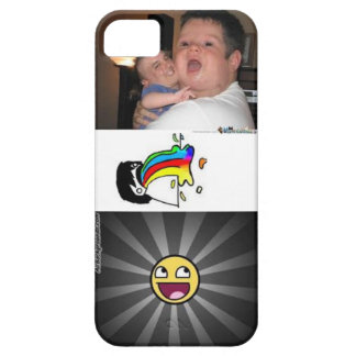 Caso divertido del iPhone 5 Funda Para iPhone 5 Barely There