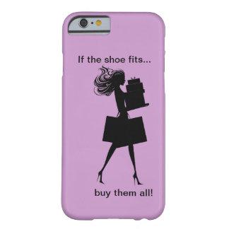 Caso divertido del iPhone 6 de las señoras Funda De iPhone 6 Barely There
