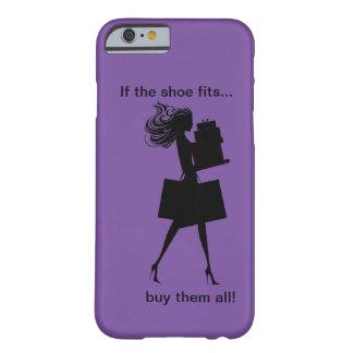 Caso divertido del iPhone 6 de las señoras Funda Barely There iPhone 6