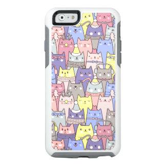 Caso divertido del iPhone 6 de los gatos del Funda Otterbox Para iPhone 6/6s