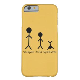 Caso divertido del iPhone 6 del síndrome del niño Funda Para iPhone 6 Barely There