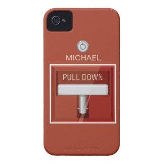Caso divertido del iPhone de la estación la alarma iPhone 4 Cobertura