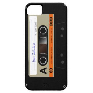 Caso divertido retro del iPhone 5 de MixTape del iPhone 5 Fundas