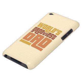 Caso divertido retro del tacto de iPod del papá Cubierta Para iPod De Barely There