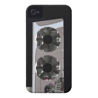 caso divertido v5 del consejo principal iPhone 4 Case-Mate protector