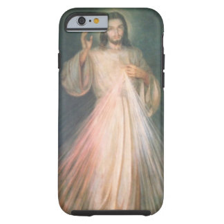 Caso divino de la misericordia funda de iPhone 6 tough