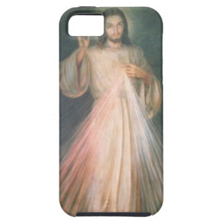 Caso divino de la misericordia iPhone 5 carcasas