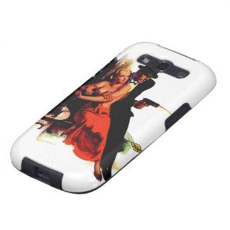 Caso doble del iPhone de la cuadrilla de la acción Galaxy SIII Carcasas