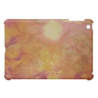Caso dorado del iPad del cielo