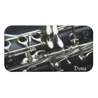 Caso dual hermoso del iPhone 4 de los Clarinets iPhone 4/4S Carcasa