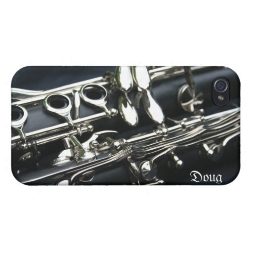 Caso dual hermoso del iPhone 4 de los Clarinets iPhone 4 Cobertura