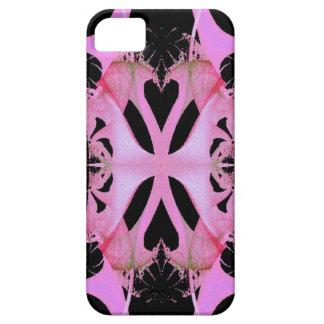 Caso dual rosado del iPhone de Barely There del iPhone 5 Carcasa