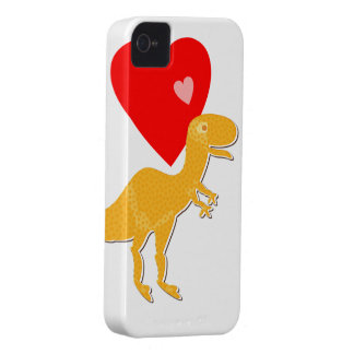 Caso dulce 4S del iPhone 4 del dinosaurio de T-Rex Case-Mate iPhone 4 Cobertura
