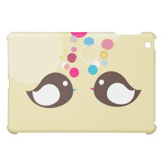 Caso dulce del iPad del pájaro