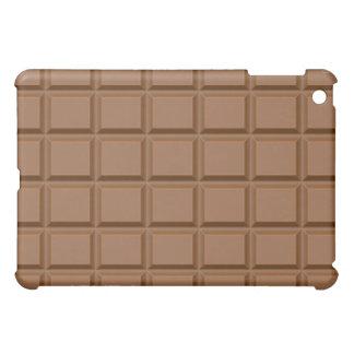 Caso dulce y sabroso del iPad del chocolate