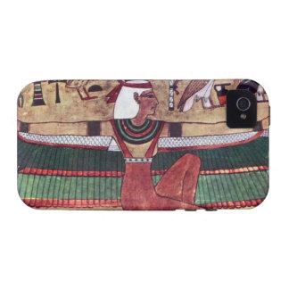 Caso duro antiguo 4S de Egipto IPhone 4 de la dios Case-Mate iPhone 4 Funda