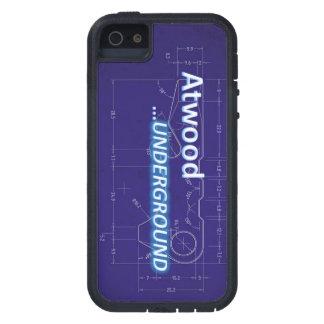 Caso duro de Atwood para Samsung S3 y 4 iPhone 5 Funda