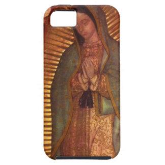 Caso duro de Guadalupe iPhone 5 Protectores