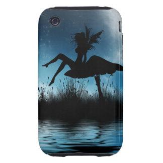 Caso duro de hadas del iPhone 3G de la fantasía Funda Though Para iPhone 3