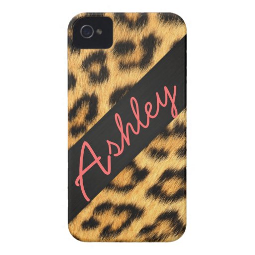 Caso duro de Iphone 4 de la piel de Jaguar iPhone 4 Case-Mate Funda