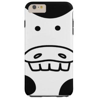 Caso duro de Iphone 6S de la evolución de la vaca Funda De iPhone 6 Plus Tough