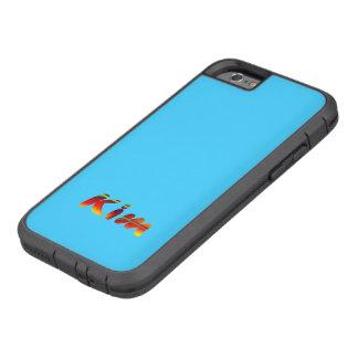 Caso duro de Kim Xtreme para el iPhone 6 en azul Funda Para iPhone 6 Tough Xtreme