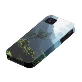 Caso duro de la primavera de la montaña (iPhone 4) Case-Mate iPhone 4 Carcasas