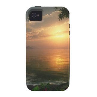 Caso duro de la primera luz (iPhone 4) Vibe iPhone 4 Carcasas