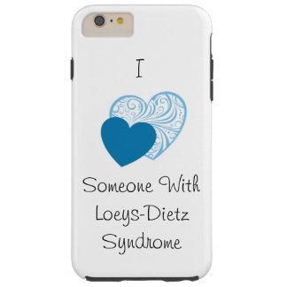 Caso duro de Loeys-Dietz Iphone 6Plus Funda De iPhone 6 Plus Tough