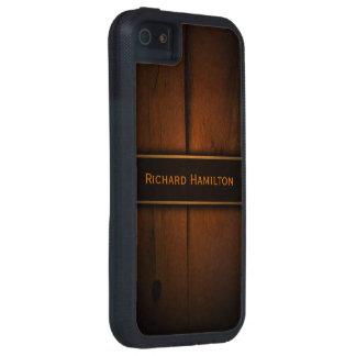 Caso duro de madera báltico 5S del iPhone 5 de iPhone 5 Carcasa