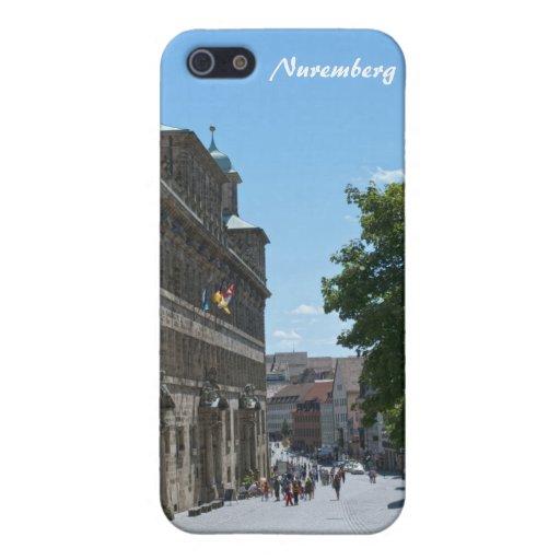 Caso duro de Nuremberg Shell para el iPhone 4/4S iPhone 5 Protectores