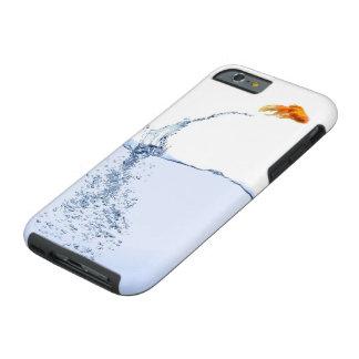 Caso duro de salto del iPhone 6 de los pescados Funda Para iPhone 6 Tough