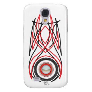 Caso duro de Speck® Fitted™ Shell de la tela a ray Funda Para Galaxy S4