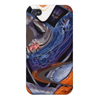 Caso duro de Speck® Fitted™ Shell para el iPhone 4 iPhone 4/4S Carcasas
