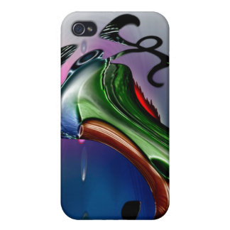 Caso duro de Speck® Fitted™ Shell para el iPhone 4 iPhone 4/4S Funda