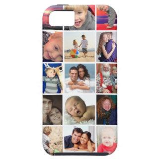 Caso duro del collage de la foto del iPhone 5/5S iPhone 5 Carcasa