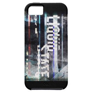 caso duro del diseño 1 del logotipo del iPhone iPhone 5 Fundas